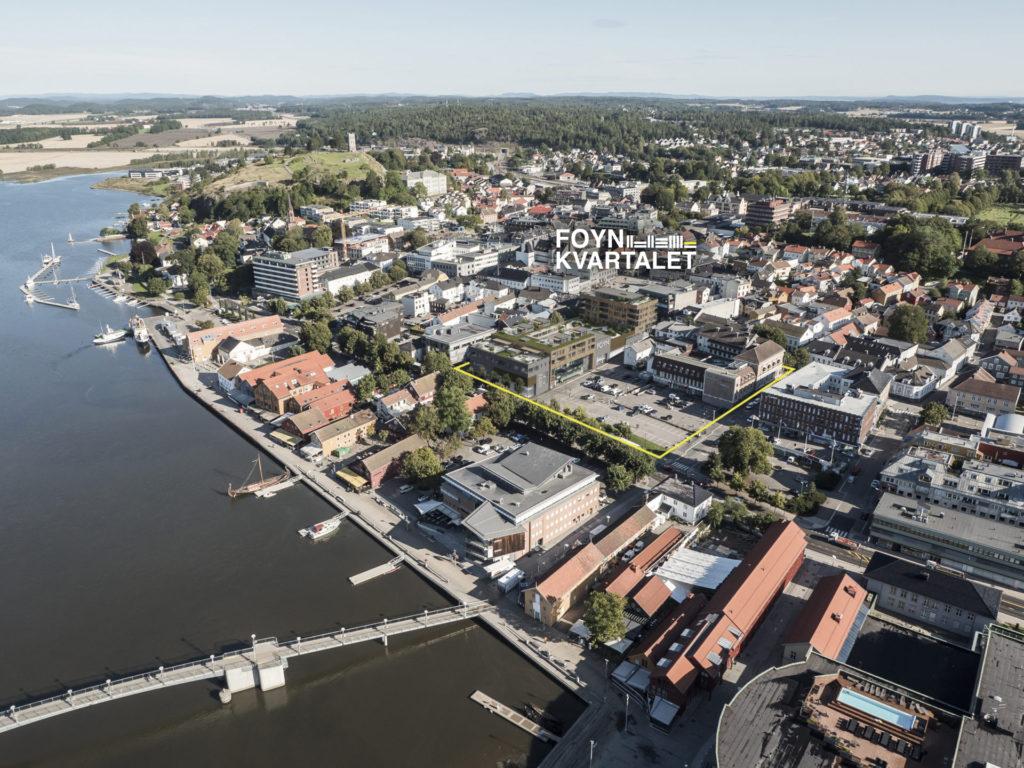 Logo foynkvartalet oversikt Tønsberg